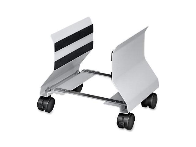 Premium CPU Stand, 8w x 9d x 9-1/2h, Platinum