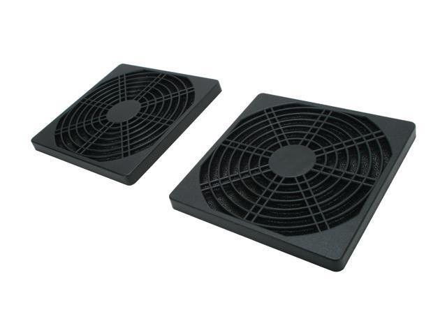 Masscool FFT-2P-120MM 120mm ABS plastic foam fan filter (2-pack)