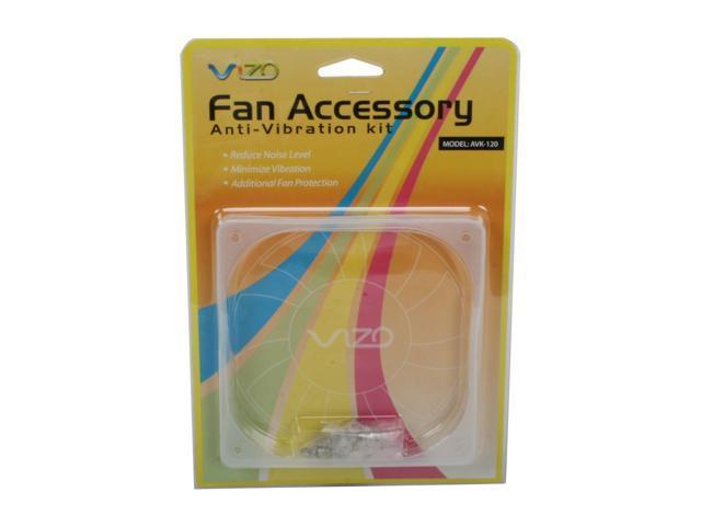 VIZO VIZO-AVK-120 Anti-Vibration Kit for 120mm Fan