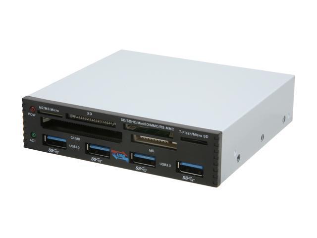SYBA SY-HUB50042 4-port PCI-e Interface USB 3.0 Bay Hub with 6-slot Card Reader