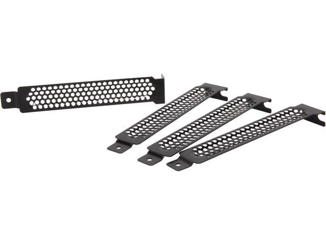 APEVIA PSC-02 Apevia Standard Case Expansion Slot Cover 5 in 1 pack