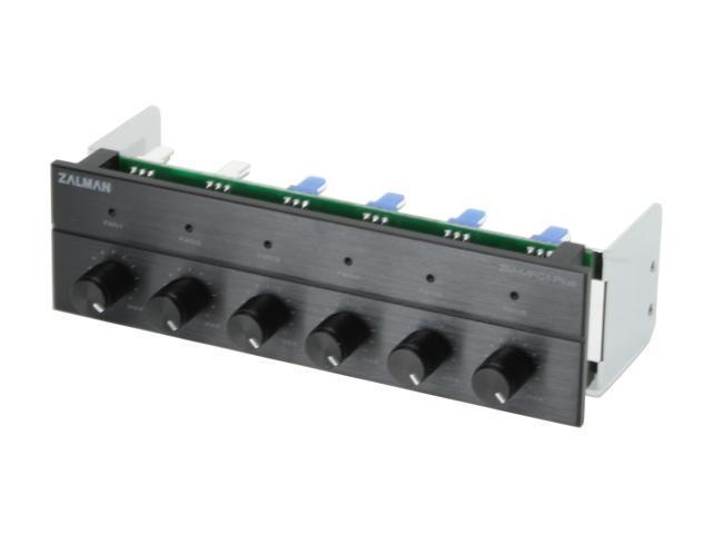 ZALMAN MFC1 Plus-B Black 6 Channel Multi Fan Controller