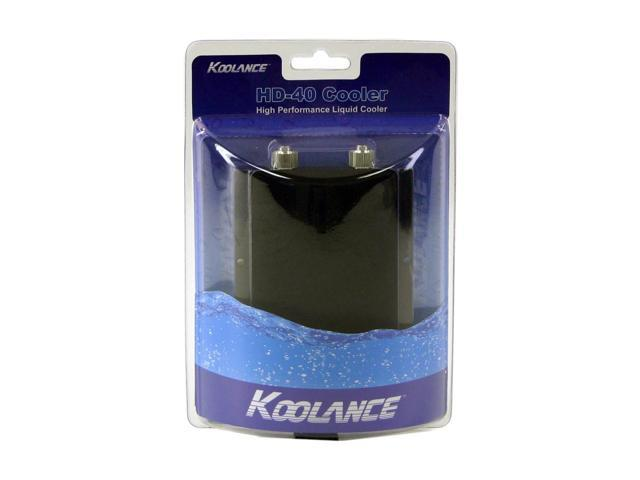 KOOLANCE HD-40-H06 Hard drive Cooler for Water cooled kits