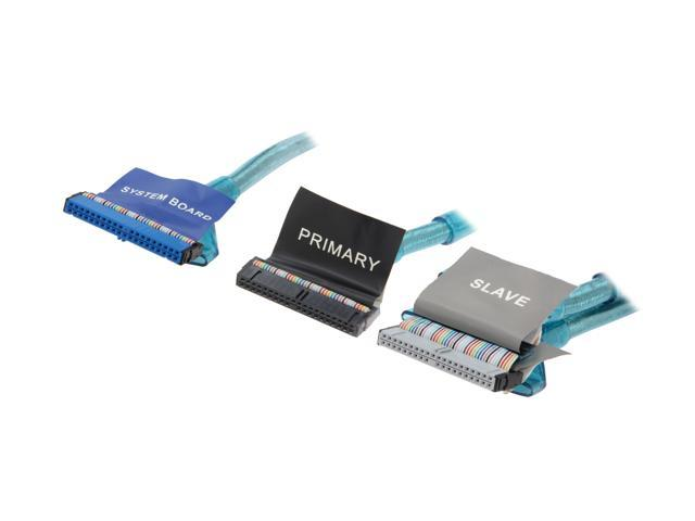 """Link Depot Model UV-ATA18-BU-3 18"""" ATA133 UV Cable"""