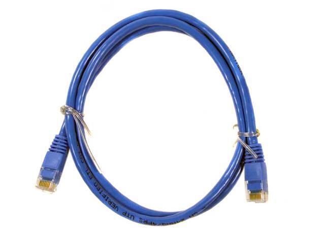 AMC CC5E-B3B 3 ft. Cat 5E Blue Cat 5E Blue Network Cable