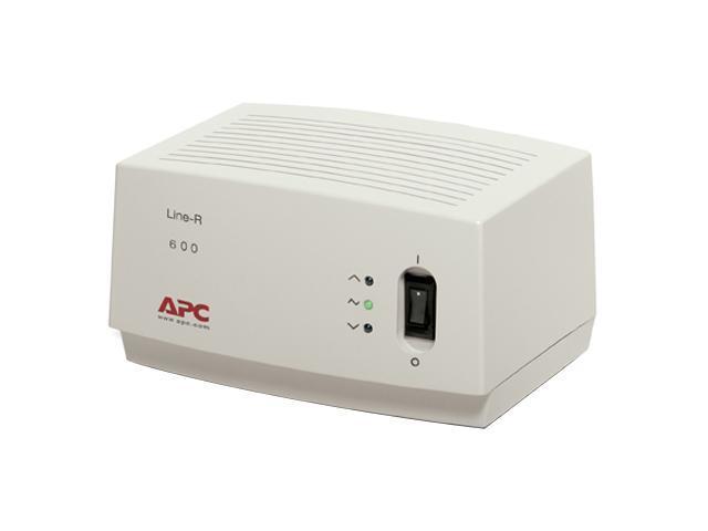 APC LE600 6.5 feet 4 Outlets 680 Joules Line-R 600VA Automatic Voltage Regulator