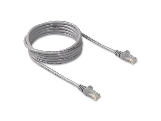 BELKIN A3L980-03-S 3 ft. Cat 6 Gray Patch Cable