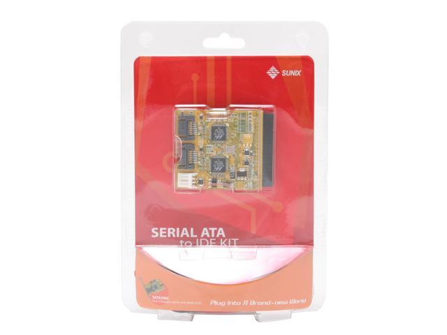 SUNIX SABR2000HV IDE to Serial ATA Bridge Device mode with vertical type