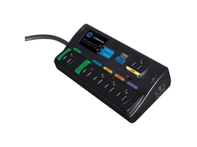 Monster Cable Digital PowerCenter HPM MDP 650G EA 6-Outlets Surge Suppressor