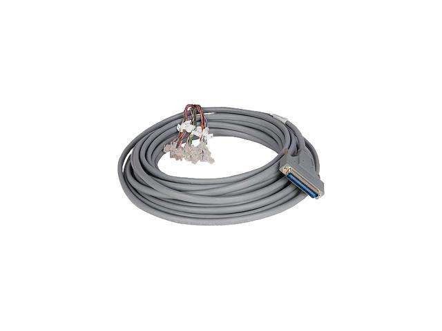HP MSR 50 pin D-sub Male to 24 x RJ-11 Plug 15m Router Cable