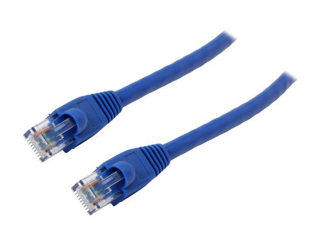 Coboc NW-6-1-BL 1 ft. Cat 6 Blue Cat6 550Mhz UTP Network Cable