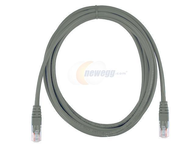 Rosewill RCW-525 10ft. /Network Cable Cat 5E /Gray