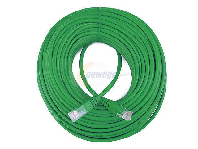 Rosewill RCW-536 100ft. /Network Cable Cat 5E /Green