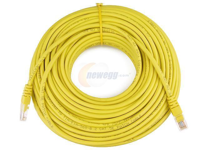 Rosewill RCW-550 100ft. /Network Cable Cat 5E /Yellow