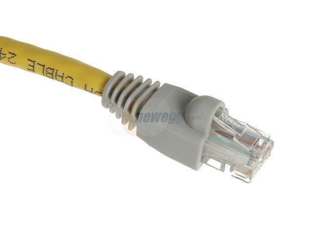 Rosewill RCW-718 7ft. /Network Cable Cat 6E /Yellow