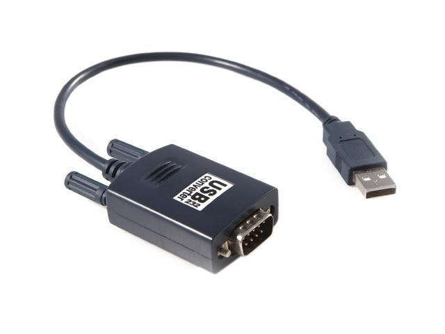 Rosewill RCW-617 – 1-Foot USB to Serial (9-Pin) DB-9 RS-232 Adapter