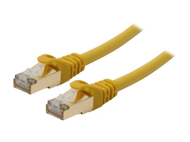 Rosewill RCNC-11055 50 ft. Cat 7 Yellow Shielded Twisted Pair (S/STP) Networking Cable