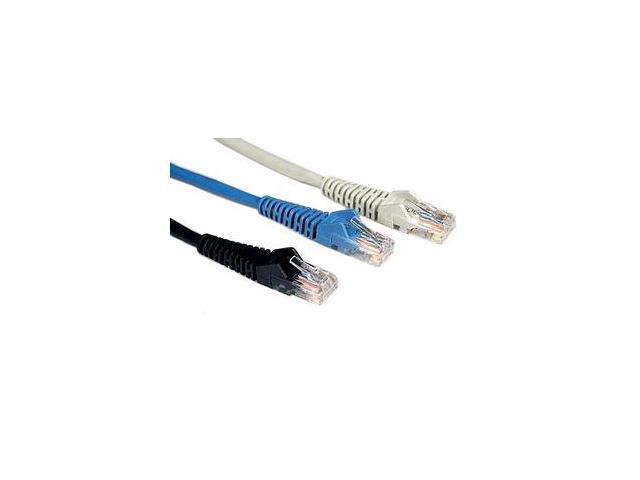 TRIPP LITE N001-003-BK 3 ft. Cat 5E Black Network Cable