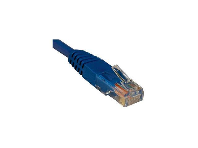 TRIPP LITE N002-005-BL 5 ft. Cat 5E Blue Network Cable