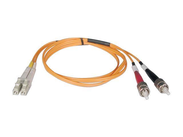Tripp Lite N318-03M 9.8 ft. 3M Duplex MMF Cable LC/ST 62.5/125 Fiber