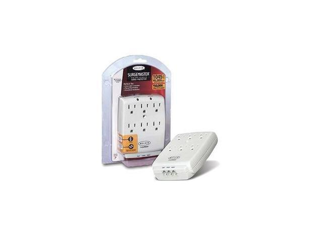 BELKIN F9H620-CW 6 Outlets 1045 Joules Wall Mount Home Series