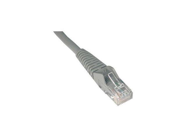 TRIPP LITE N001-075-GY 75 ft. Cat 5E Gray Snagless Cat5e Molded Patch Cable