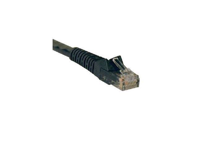 TRIPP LITE N201-005-BK 5 ft. Cat 6 Black Cat6 Gigabit Snagless Patch Cable