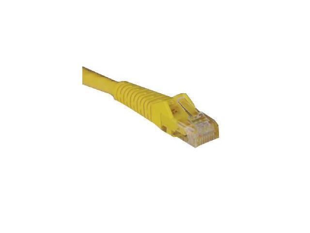 TRIPP LITE N201-010-YW 10 ft. Cat 6 Yellow Gigabit Snagless Molded Patch Cable