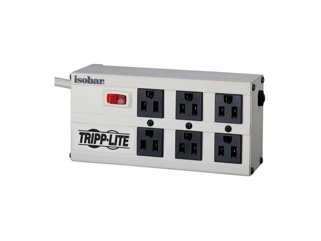 TRIPP LITE ISOBAR6 6 ft. 6 Outlets 2350 joules Isobar Surge Suppressor