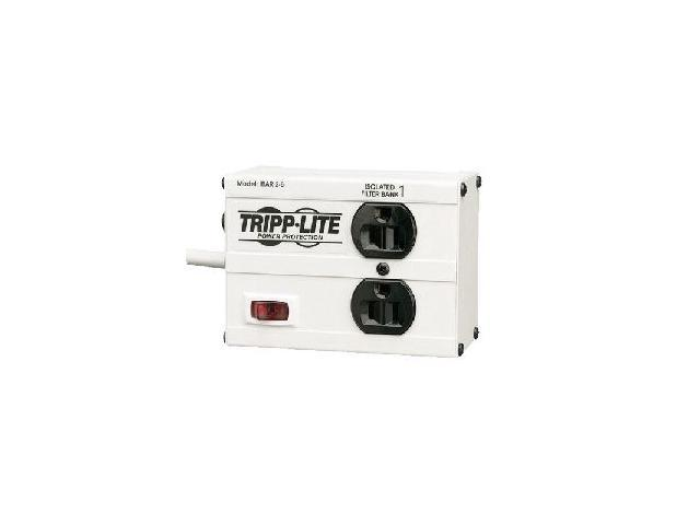 Tripp Lite ISOBAR2-6 6 ft.Cord 2 Outlets 1410 Joules Isobar Surge Suppressor