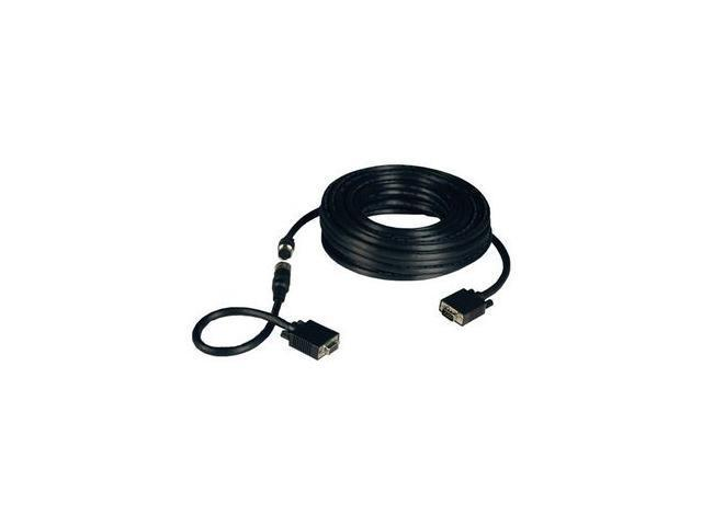 TRIPP LITE 50 ft. Easy Pull All-in-One SVGA/VGA Monitor Cable with Connectors P503-050