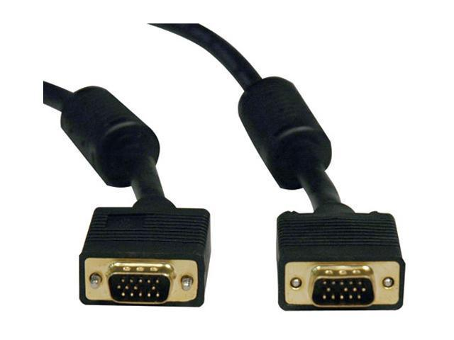 TRIPP LITE 3 ft. SVGA Monitor Gold Cable w/RGB Coax HD15M/M P502-003
