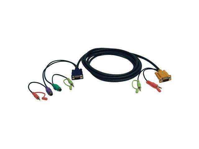 TRIPP LITE 10 ft. 10-ft. VGA/PS2/Audio Combo Cable Kit for B006-VUA4-K-R KVM Switch