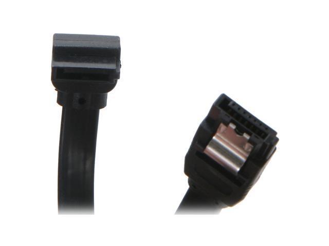 "OKGEAR GC36AKM12-SL 36"" Straight To Left Angle SATA 6Gbit/s Cable"