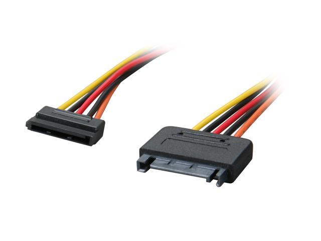 "OKGEAR GC12AMF 12"" SATA 15pin power extension cable"