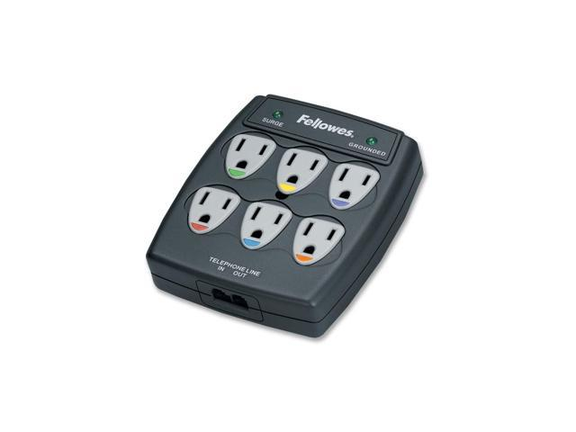 Fellowes 6 Outlet Surge Suppressor