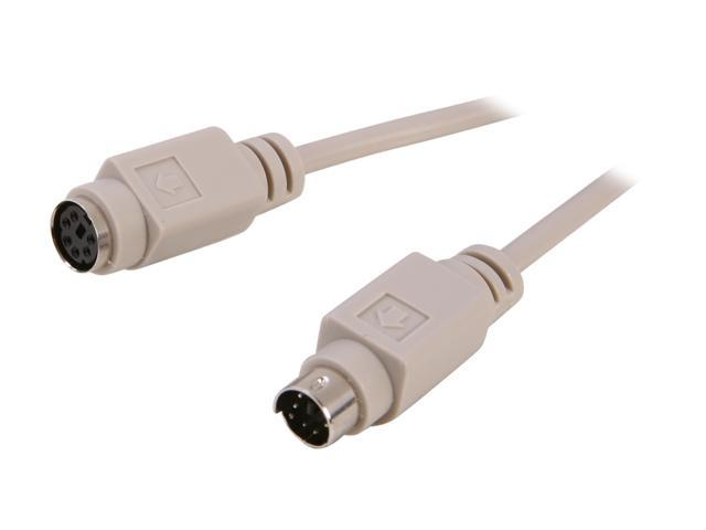 PPA Model 5013D 6 ft. M/F PS/2 Extension Cable