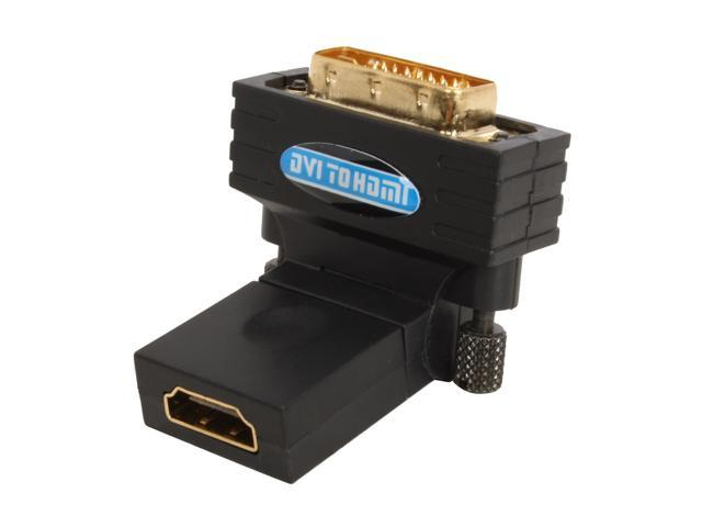 SABRENT AD-RTHD DVI Male to HDMI Female Video Rotating Adapter