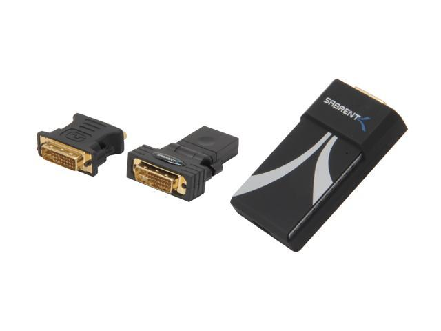 SABRENT USB-3DVI USB 3.0 DVI Video Display Adapter 1920x1080p