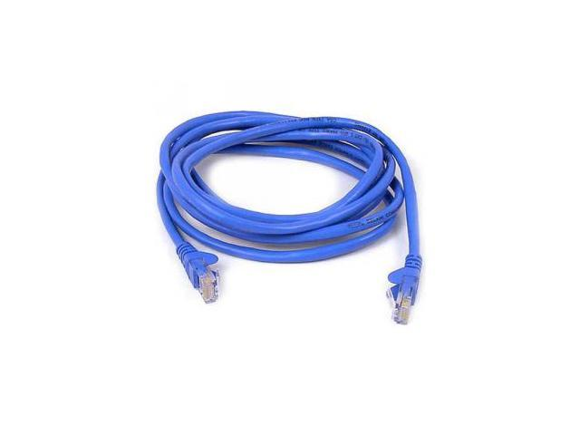 BELKIN A3L980-08-BLU-S 8 ft. Cat 6 Blue High Performance Snagless Patch Cable