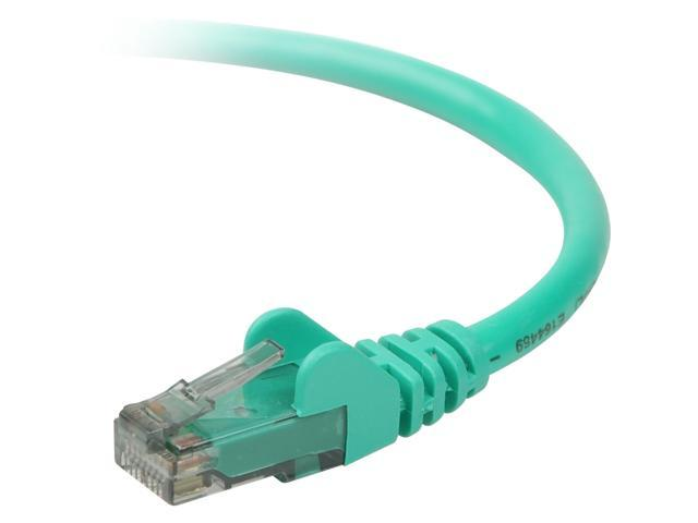BELKIN A3L980-20-GRN-S 20 ft. Cat 6 Green UTP Patch Cable