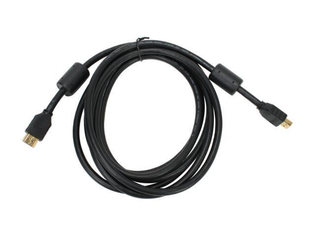 SYBA SY-HDM-MM10 10 ft. Black HDMI to HDMI Cable M-M