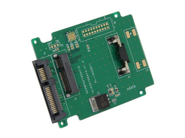 """SYBA SY-ADA40050 Mini-SATA to 2.5"""" SATA Adapter"""