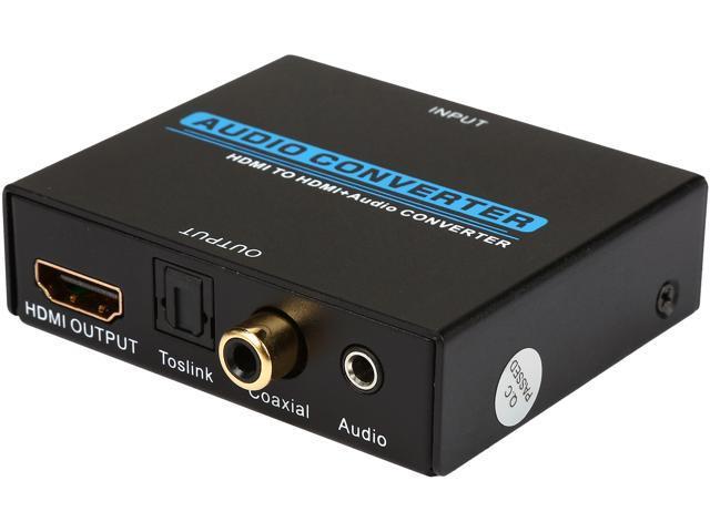 Coaxial Cable To Hdmi Tv : Syba sy ada hdmi audio converter newegg