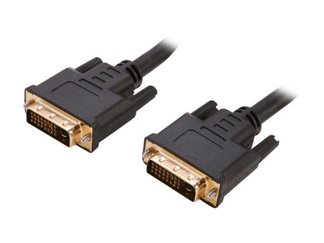 Link Depot LD-DVI6DVI Black 6 ft. DVI to DVI Cable  - OEM