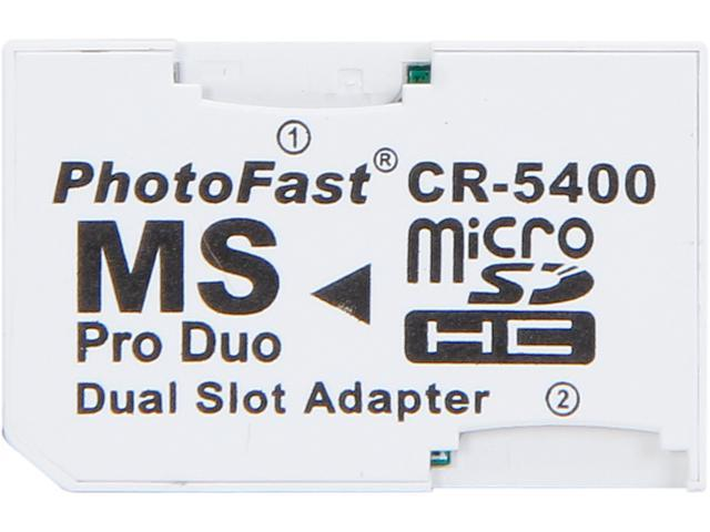 Link Depot LD-2MSD-MS Dual Micro SD to MSPD Adapter