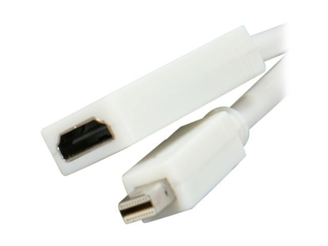 Link Depot MD-HDMI-0.2 Mini Display port to HDMI cable Adapter