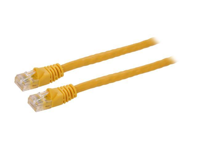 Link Depot C6M-75-YLB 75 ft. Cat 6 Yellow 550MHz Enhanced Patch Cord