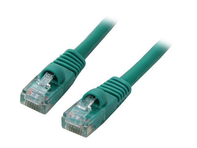 Link Depot C5M-1-GNB 1 ft. Cat 5E Green Network Ethernet Cable