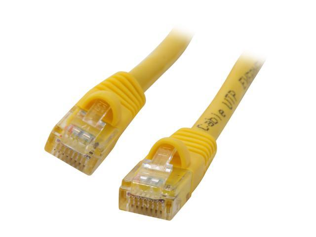 Link Depot C5M-3-YLB 3 ft. Cat 5E Yellow Network Ethernet Cable